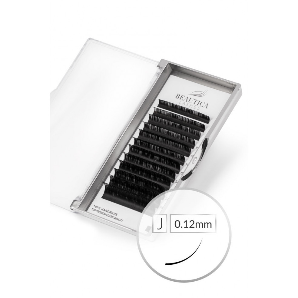 Classic Mink Eyelash J 0.12 mm Beautica Lashes