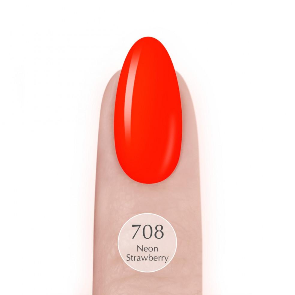 708 Neon Strawberry UV LaQ 8ml